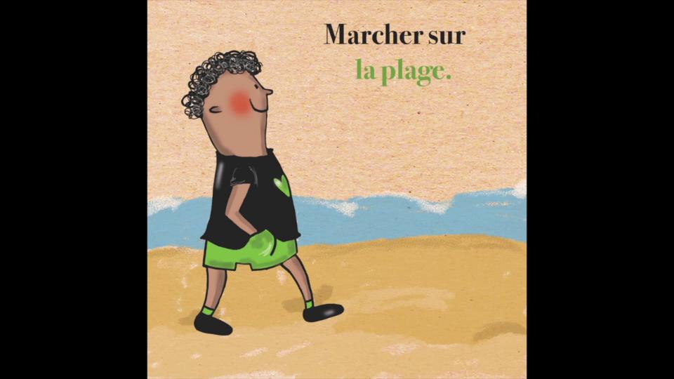 Radio Relax : Marcher sur la plage